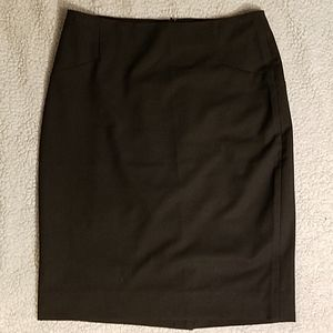 The Limited Brown Pencil Skirt Sz 2